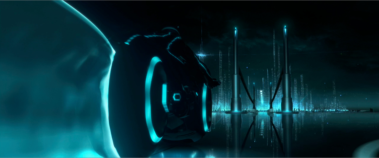 tron legacy dark city01 Movie Review!  Tron: Legacy #3 at the Box Office